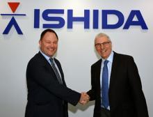Dave Tiso und Graham Clements Ishida Europe