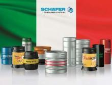 Schäfer Container Systems unterstützt Brauereien in Italien