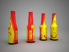 Bier in Aluminium-Flasche