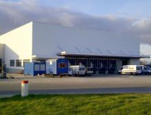 Lagerhalle in Bunde