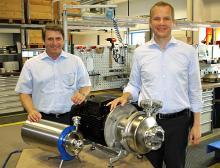 Axel Thoegersen und Peter Hubert