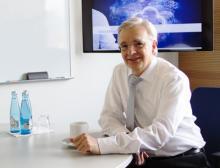 Bernhard Müller ist Mitglied der Geschäftsleitung bei Sick