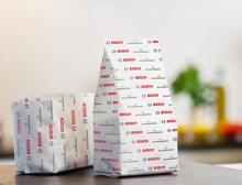 gesiegelte Papierverpackung Bosch Packaging