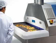 Pizzaproduktion