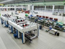 Neues Werksgebäude TLM-Maschinen von Gerhard Schubert