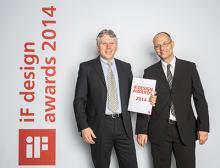 Übergabe des iF Design Awards
