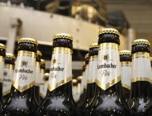 Bier und alkoholfreie Getränke von Krombacher