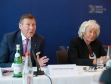 Gerhard Berssenbrügge und Renate Schmidt