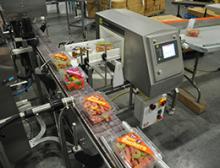 Metalldetektor bei Huer Foods