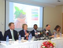 Auf der Pressekonferenz am 25.01.17 im Ramada Hotel Addis Ababa wurde die neue Fachmesse in Addis Abeba vorgestellt