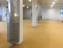 Der Neubau wurde von Airinotec mit einem komplexen System an Hygienelufttechnik ausgestattet