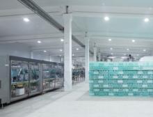 Produktionsräume der Butsifal Group im usbekischen Gazalkent