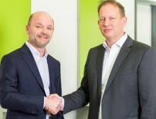 Marc Setzen (rechts im Bild)  ist CEO-Nachfolger von Xaver Auer