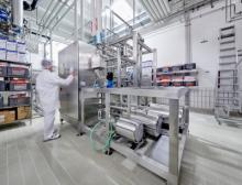 Cross-Flow-Anlage von Handtmann zur Laugenaufbereitung
