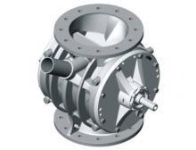 Zellenradschleuse ZVB von Coperion aus Edelstahl
