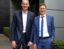 Frank Rieker (links) und Thomas Rose sind die Geschäftsführer der neugegründeten Deriba Group