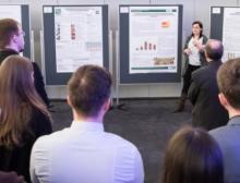 Nachwuchswissenschaftler präsentierten in den Pausen ihre Poster