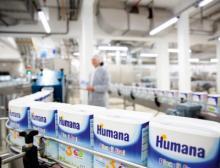 Von Strückhausen in die Welt: Das Humana-Babymilchpulver vertreibt DMK rund um den Globus