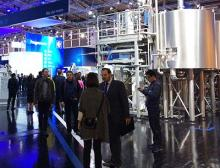 Krones Messestand Drinktec 2017