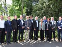 Die Moderatoren und die Referenten des 16. FEI-Kooperationsforums