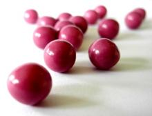 Oberflächenbehandlung von Süßwaren