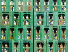 Fruchstsaft in Mehrwegflaschen