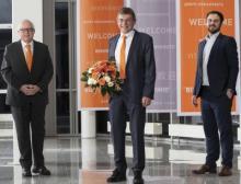 Geschäftsführer der Handtmann Maschinenfabrik  in den Ruhestand verabschiedet