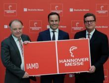 Pressekonferenz am 31. März 2017 - Hannover Messe