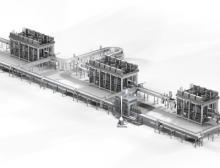 Angesichts der kompakten Bauweise und der hohen Kapazität der KHS Innokeg AF-C Transversal kommt der intelligenten Keg-Transportlogistik