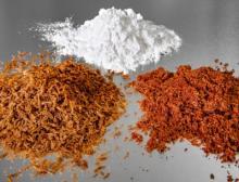 Die Lory Tex-Range des Ingredient-Spezialisten Loryma kann verschiedene Fleisch- und Fisch-Applikationen nachbilden