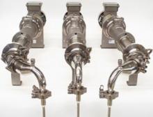 Anwendungsbeispiel 3-fach Abfüllpumpe für kontinuierliche Abfüllung & zur Integration in Schlauchbeutelabfüllmaschinen