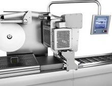 Multivac Foliendirektdrucker DP 230 auf Tiefziehverpackungsmaschine