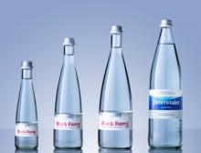 Von 0,25 bis 1 Liter: Peterstaler bietet verschiedene Flaschenformate an