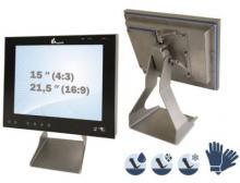 Edelstahlgehäuse mit Rundumschutz gegen Schmutz und Feuchtigkeit (bis zu IP69k)