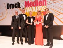Das Team der RLC packaging group wird ausgezeichnet als Verpackungsdrucker des Jahres 2016