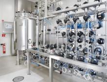 Filtrationsanlage im Reinraum