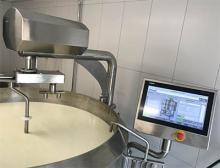 Automatisierter Käsekessel mit Siemens Komponenten