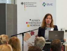 Stefanie Sabet, Geschäftsführerin und Leiterin Büro Brüssel bei BVE