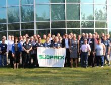 Südpack-Geschäftsführung zu Besuch bei Seville Flexpack in Oak Creek, Wisconsin