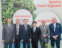 Symrise Eröffnung Singapur Gruppenbild