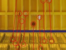 Das von Bi-Ber entwickelte Reflexsystem erkennt Defekte und Fremdkörper sehr genau