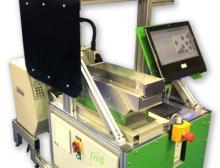 """Kombination von Verpackungsmaschine PS 125 und """"pi4-Roboter"""""""
