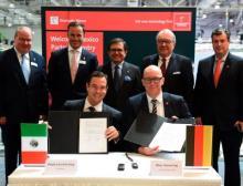 Unterzeichnung Partnerlandsvertrag Mexiko