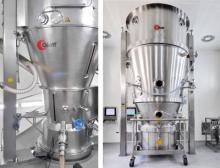 Beide Anlagen im Glatt Technologiezentrum in Weimar verarbeiten lösemittelbasierte Produkte