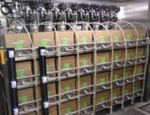 Drei Kreuzfahrtschiffe nutzen bereits das Beer-in-Box-System. Die Cruiser schenken unter anderem Ankerbräu aus