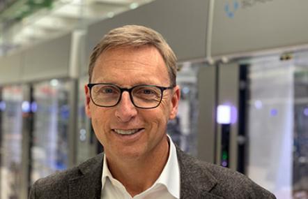 Marcel Kiessling, Geschäftsführer Gerhard Schubert